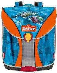 Scout Školský batoh Nano Vrtuľník a motorky