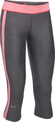 Under Armour športne pajkice HG Armour Sport Capri, sive