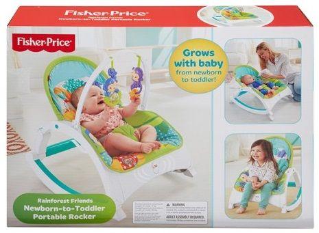 Fisher-Price Sedátko rainforest 3v1