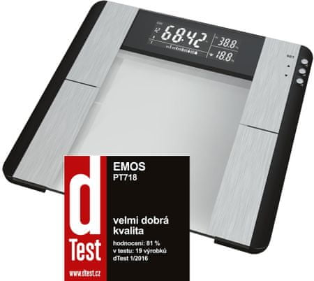 EMOS waga łazienkowa PT-718