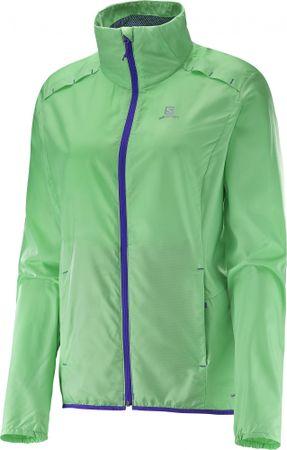 Salomon ženska jakna Agile Jkt, svetlo zelena, M