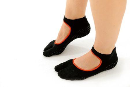 Sissel Pilates enoprstne nogavice S/M, črne