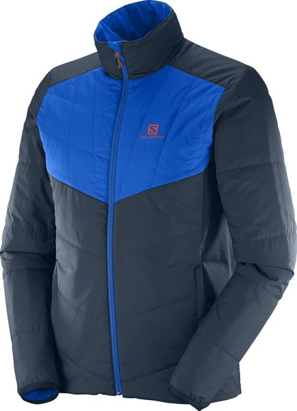 Salomon Drifter Mid Jkt M Big Blue-X 2XL