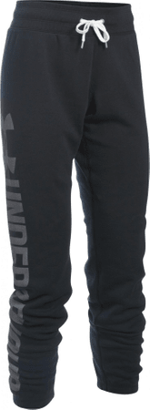 Under Armour ženske hlače Favorite Fleece Pant, črne, M