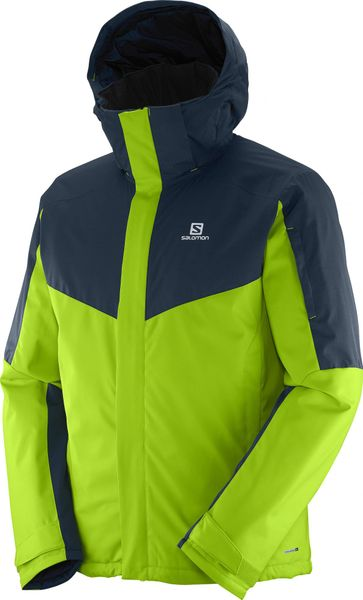 Salomon Stormseeker Jkt M Granny Green/Blue XL