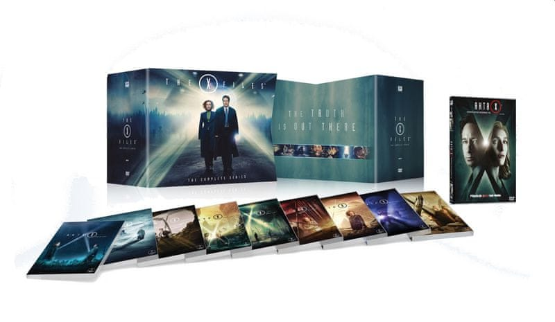 AKTA X - The Complete Series: Sezóny 1-10 (63DVD) - DVD