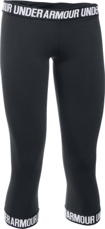 Under Armour ženske tajice Favorite Capri Hem, crne, M