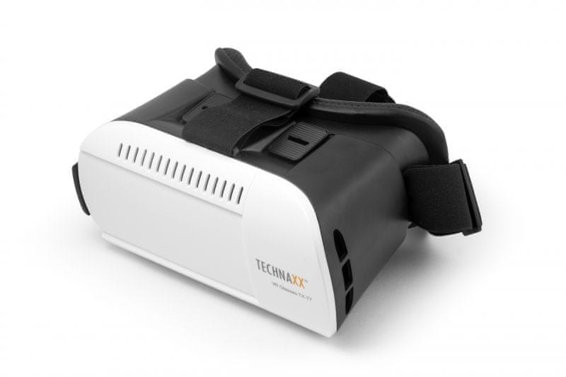 Technaxx 3D brýle VR Glasses, bílý