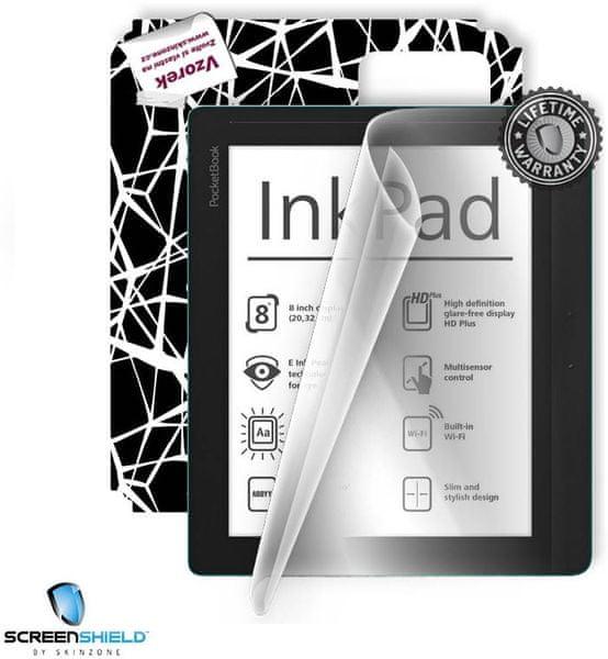 SCREENSHIELD ochrana displeje + skin voucher pro PocketBook 840 InkPad Freedom