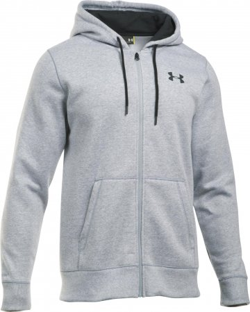 Under Armour moška jopa Storm Rival Cotton Full Zips, siva, XXL