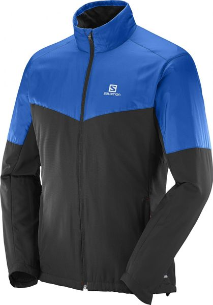Salomon Escape Jkt M Blue Yonder/Black L