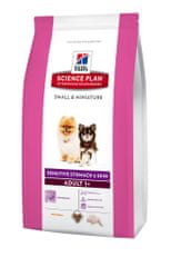 Hill's SP Canine Adult Small&Mini Sensitive Stomach and Skin Kutyatáp, 1,5kg