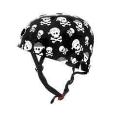 Kiddimoto otroška čelada Skullz