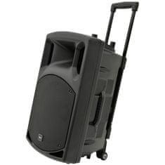 QTX prenosni aktivni zvočnik QX15PA karaoke