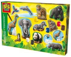 SES Zwierzęta - odlewy gipsowe do malowania