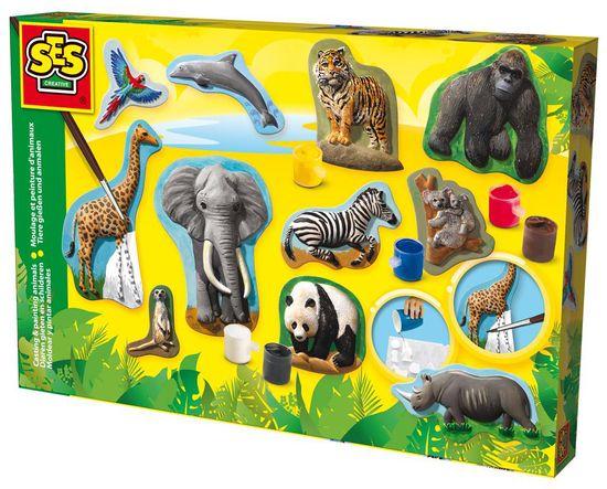 SES Gipsz állat készítő Kreatív játék