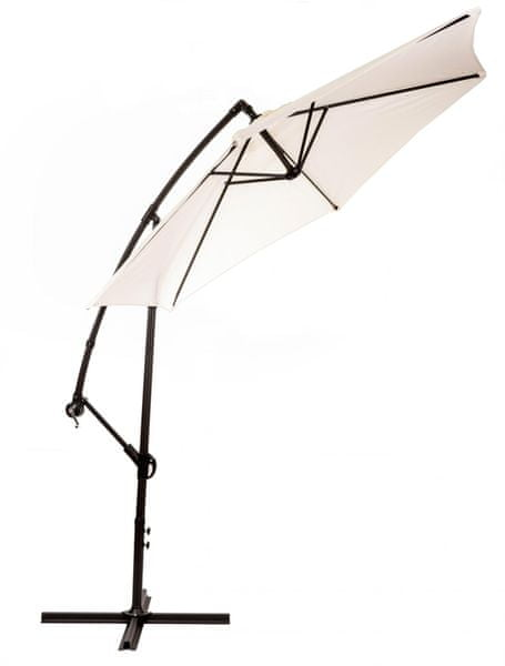 M-TREND Miami - boční slunečník 2,7 m, béžový