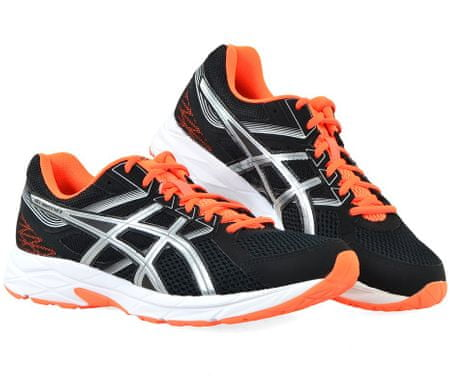 Asics Gel-Contend 3 Black/Silver/Hot Orange 44,5
