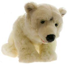 Lamps Pluszowy niedźwiedź polarny, duży
