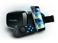 GOCLEVER virtuální brýle Elysium VR PLUS s BT ovladačem