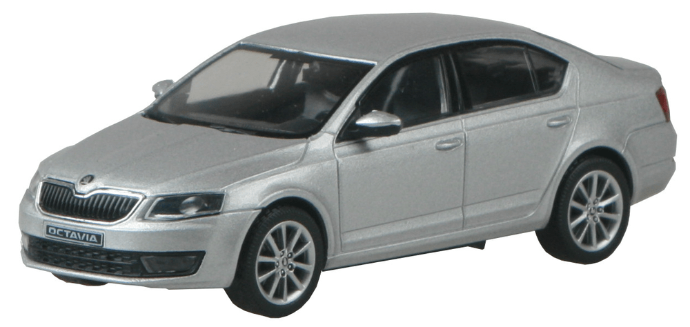 Škoda Octavia III 2012 stříbrná Brilliant metalíza 1:43