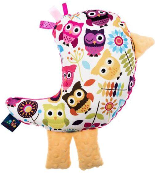 """CuddlyZOO Plyšový mazlíček """"Ptáček"""" - sovy/růžová"""