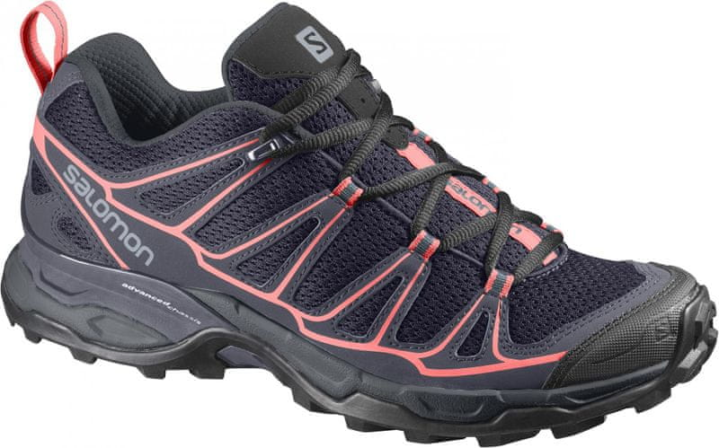 Salomon X Ultra Prime W Nightshade/Bl/Coral Punch 39.3