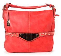 Bessie London torebka damska czerwony