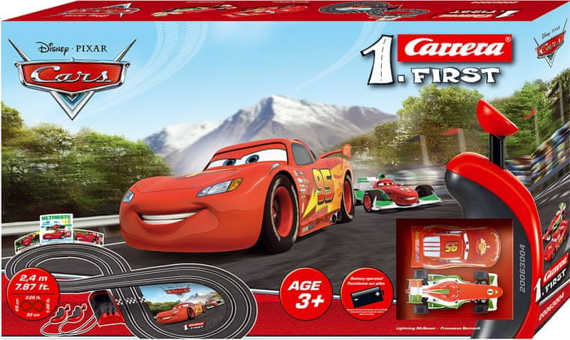 Carrera FIRST - Disney Cars - II. jakost