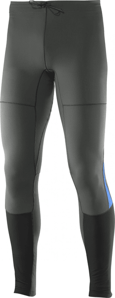 Salomon Park Warm Tight M Asphalt/Blue Yonder M