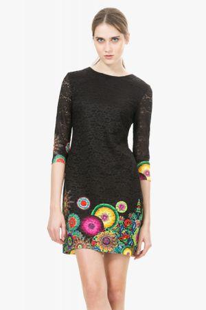 Desigual dámské šaty 40 černá