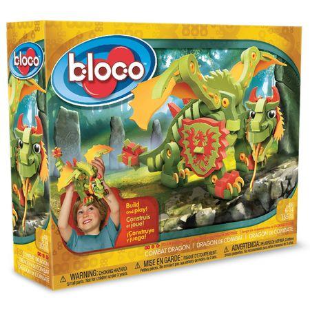 Wooky zmaj Combat Dragon, Bloco