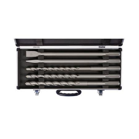 Einhell SDS MAX 5 delni set svedrov in dlet v alu kovčku (4258099)