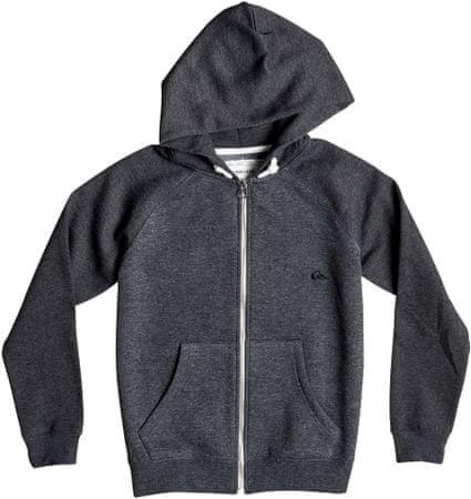 Quiksilver dječja majica Everyday Zip Youth B, siva, S/10