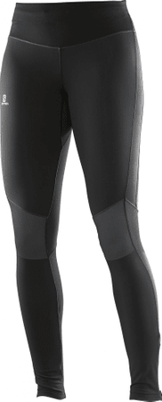 Salomon spodnie do biegania Elevate Warm Tight W Black S