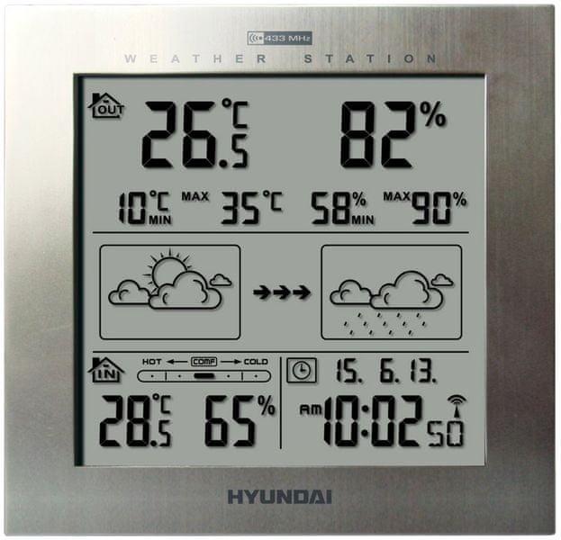 Hyundai WS 2244 stříbrná barva