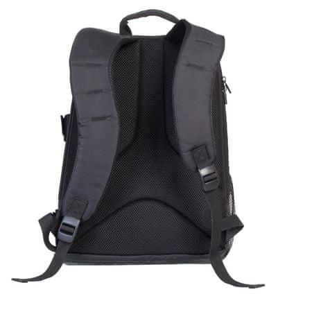 """RivaCase nahrbtnik SLR 7490 za fotoaparat in prenosnik 15,6"""", črn"""