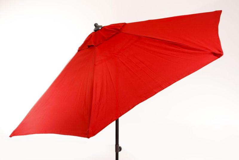 Myard Venice - středový slunečník 2,7 m, červený