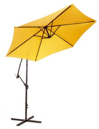 MAKERS Miami - oldalsó napernyő, 2,7 m, narancssárga