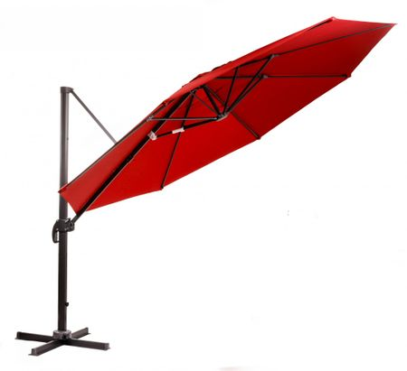 Myard nadomestno platno za senčnik Roma 350cm, rdeče