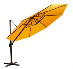 M-TREND parasol ogrodowy, boczny Roma - pomarańczowy