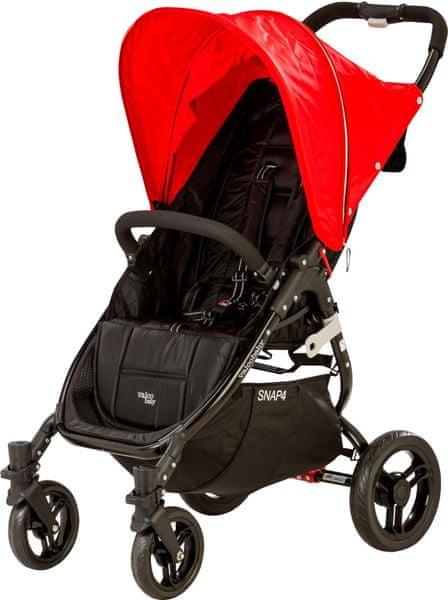 Valco SNAP 4 Black 2016, červená
