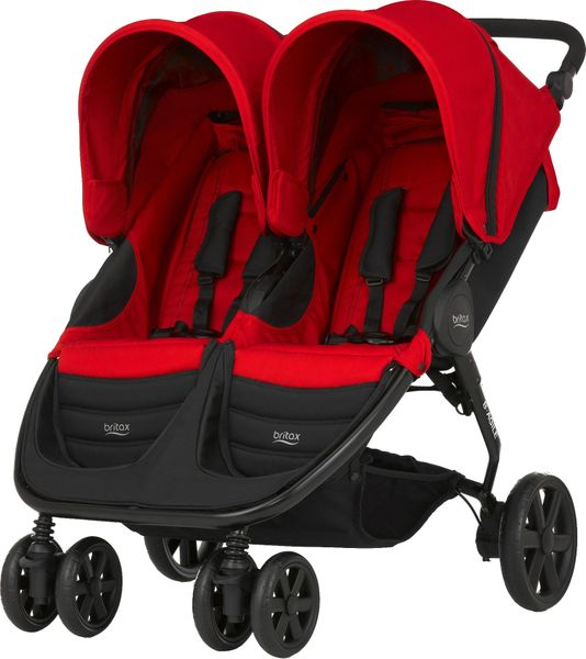 Britax B-AGILE DOUBLE 2017, Flame Red