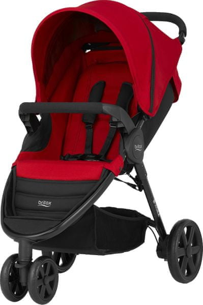Britax B-AGILE 3 2017, Flame Red