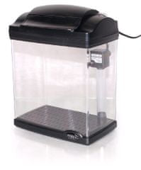 Hailea F0200-2 Akvárium, 4l, Fekete