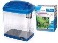 Hailea akvarijski set FC200-2, moder, 6,6/4 l