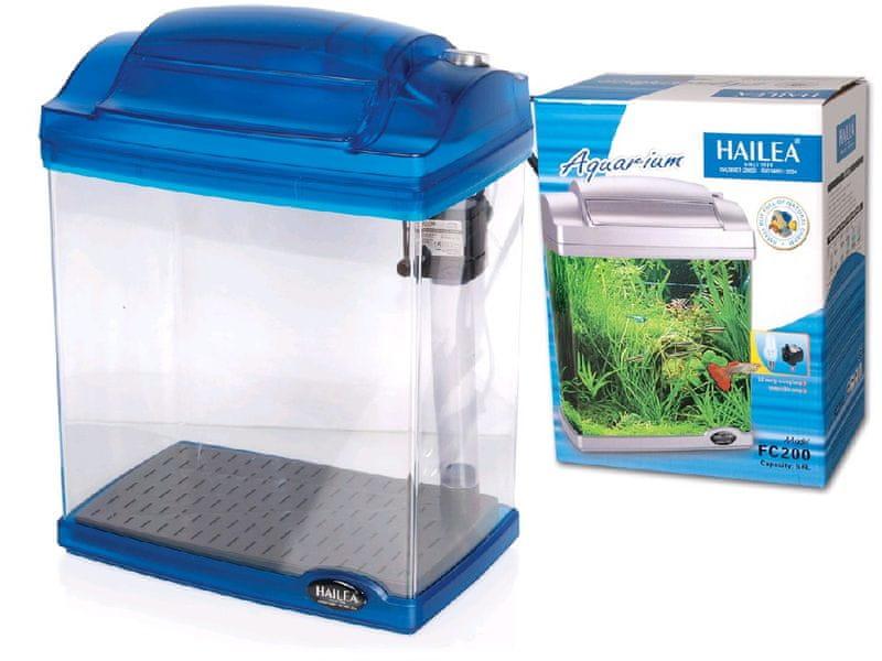Hailea Akvarijní komplet FC200-2 blue, 6,6/4l