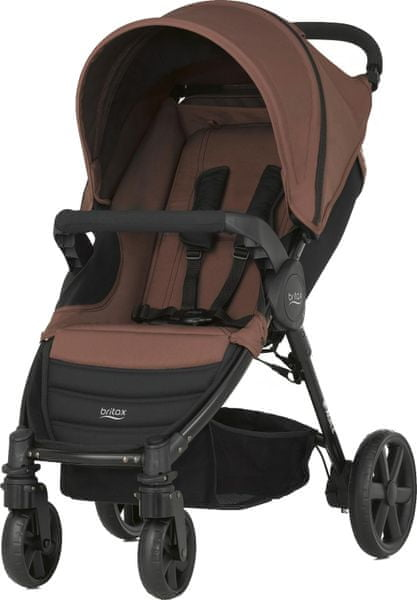 Britax B-AGILE 4 2017, Wood Brown