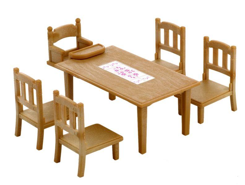Sylvanian Families Nábytek - jídelní stůl se židlemi 2933