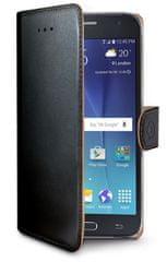 Celly pouzdro Wally, Samsung Galaxy J2, černá